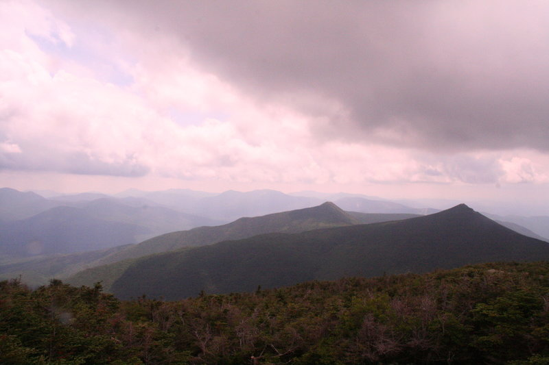 The White Mountains as seen from Franconia Ridge.