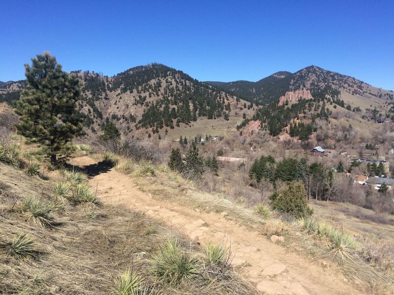 Mount Sanitas from the Viewpoint Trail