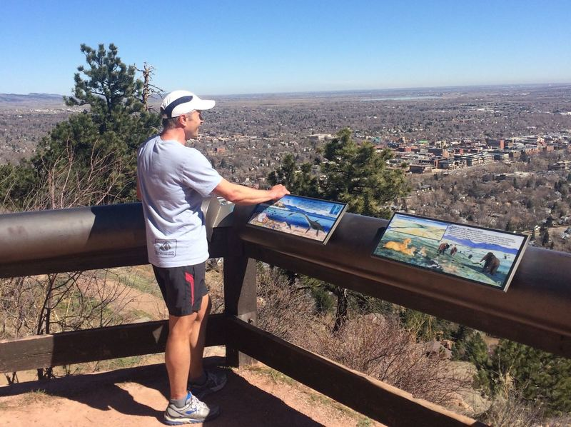 View of Boulder from Panorama Point