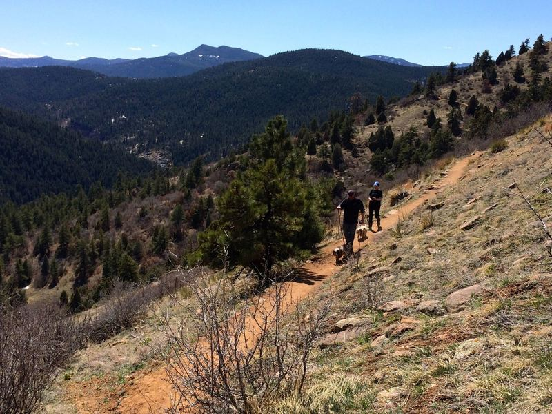 Great views along the Parmalee Trail
