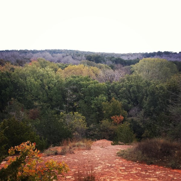 Beautiful views in the fall