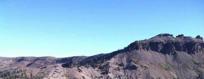 Castle Peak from Andesite ridge