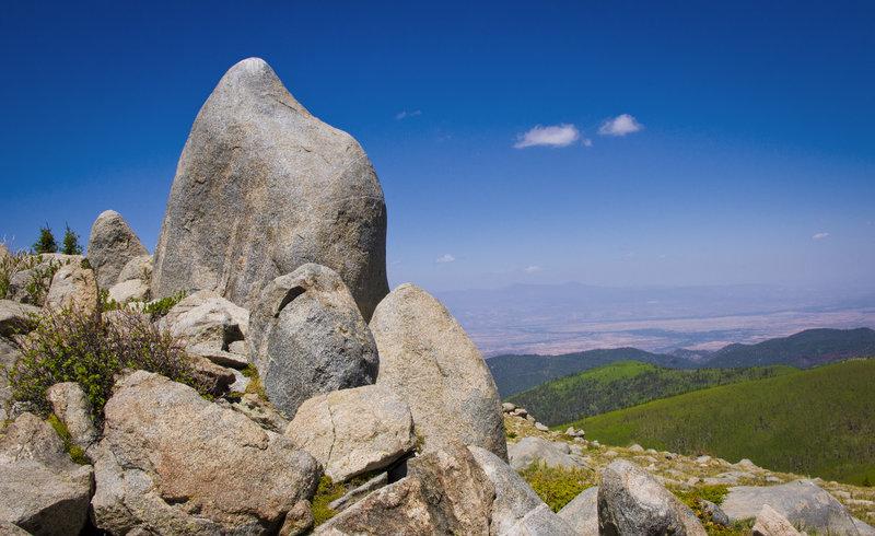 Boulders!  On the Aspen Vista Trail