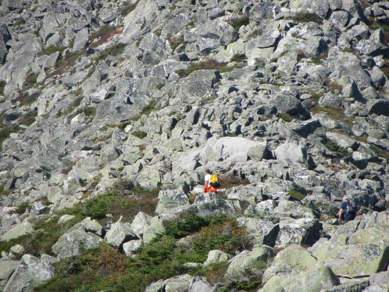 The rocks along Keep Ridge
