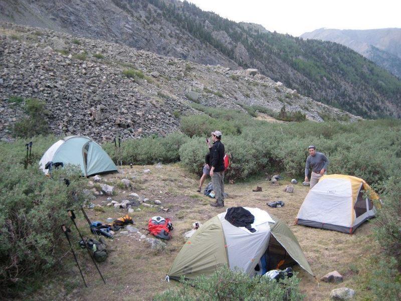 Camp during a BelOxMis weekend.