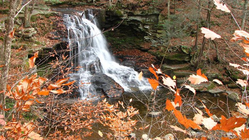 Dry Run Falls.