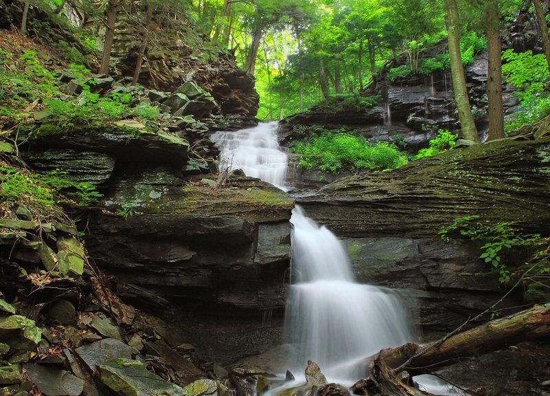 Gipson Falls (entire drop).