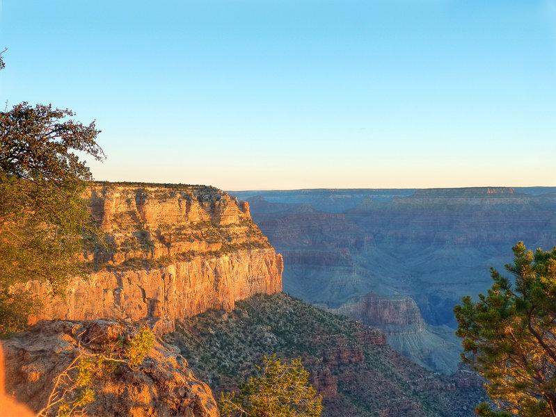 A beautiful Grand Canyon sunrise.