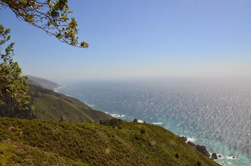 View at end of Overlook Trail.
