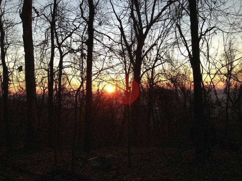 Sunrise on the South Mountain