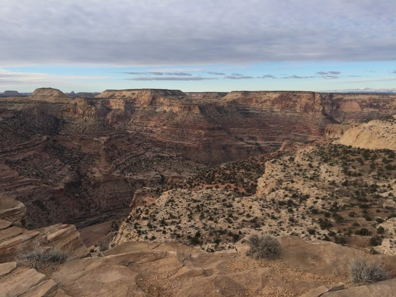 """Overlooking """"Little Grand Canyon"""" at The Wedge"""
