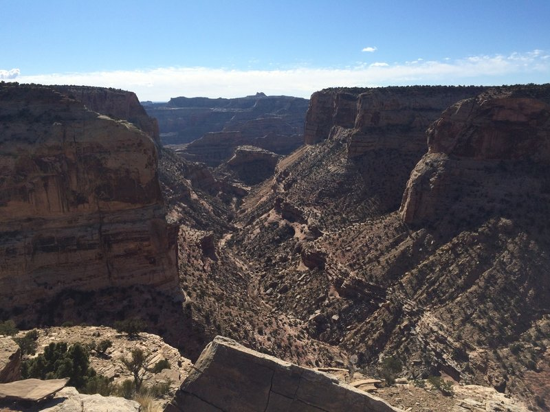 Little Grand Canyon from the Wedge in San Rafael Swell Trail