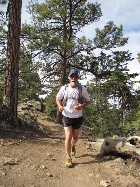 Nearing the top of Atalaya Mountain on the Atalaya Trail