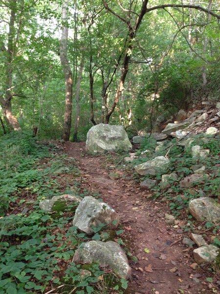 Rocks along the High Road