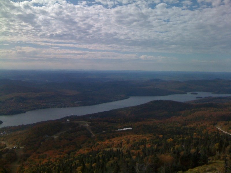 A nice view from Mont Tremblant.