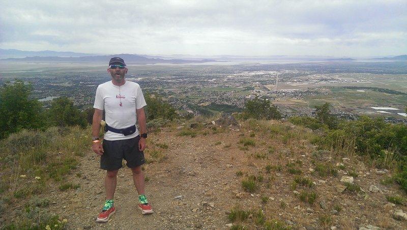 Overlook of the valley