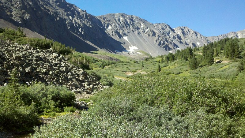 Near the Grays Peak Trailhead