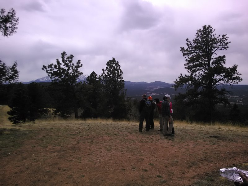 Colorado Mtn Club Group Orienteering Training
