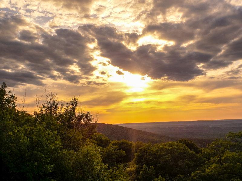 Sunset on the Auburn Trail