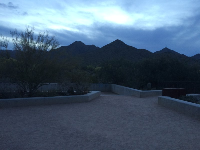 Trailhead at Daybreak