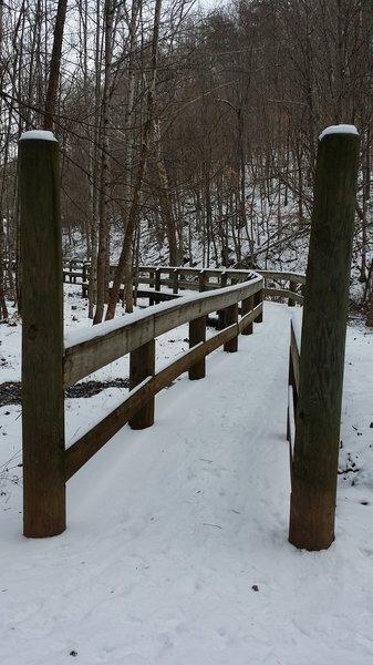 Main foot bridge