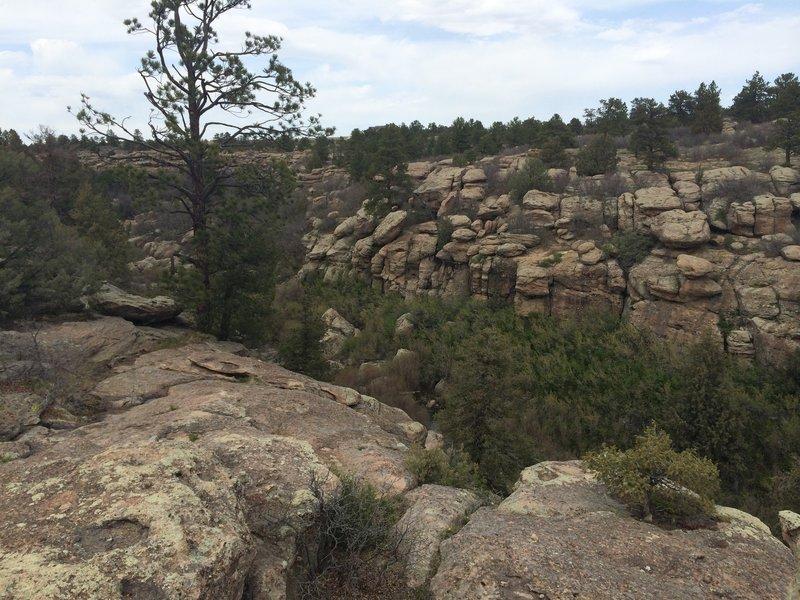 Overlook on the Hidden Mesa Trail