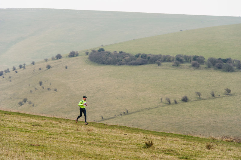 Reaching the last few miles alongside Southerham Nature Reserve.