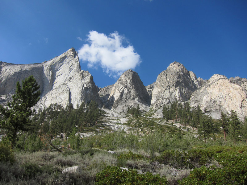 Great views along the Castle Creek Trail.