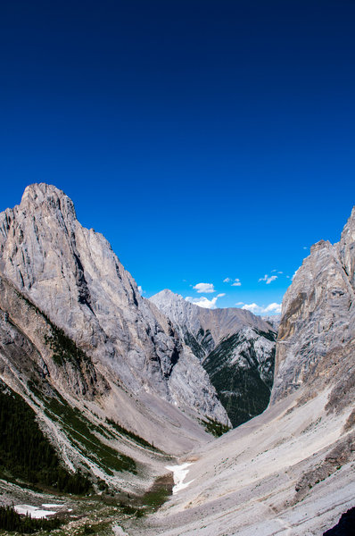You'll pack on quite a bit of vertical in a very short time on this hike!