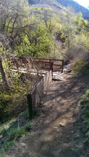 South Fork Kays Creek bridge