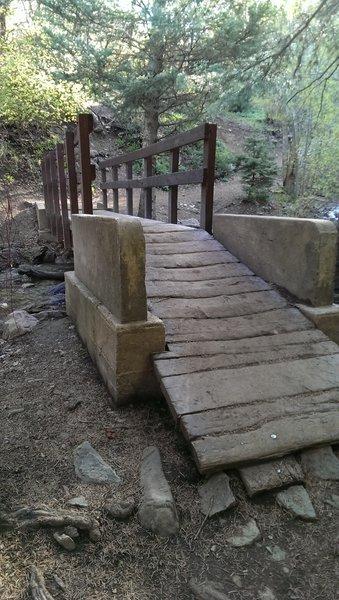 North Fork Holmes Creek bridge