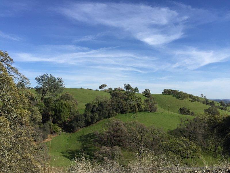 View from the El Dorado Trail