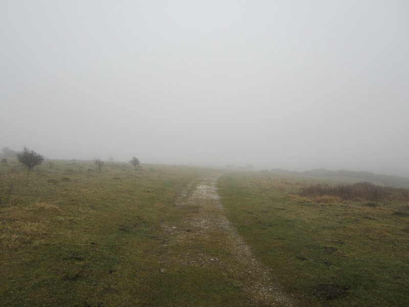 It can get quite foggy here...