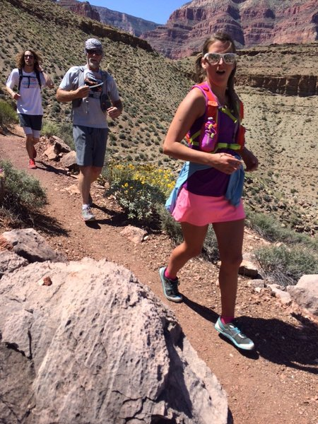 Smooth sailing on the West Tonto Trail