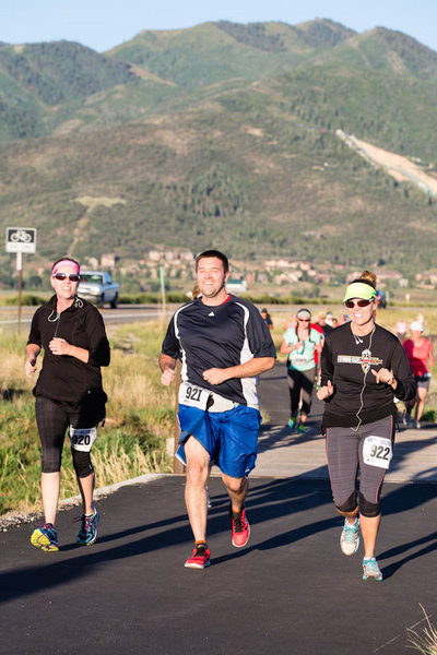 Fun to be had by all at the Park City Half!