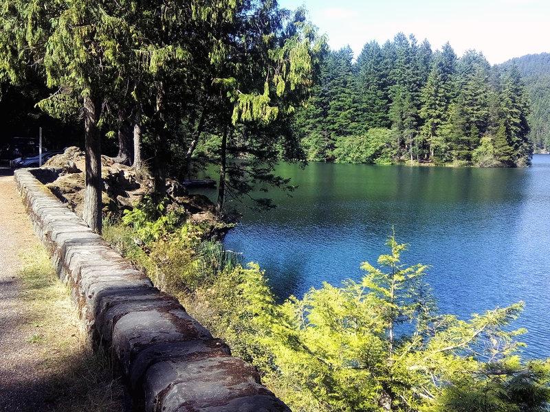 Mountain Lake, on the Mountain Lake Loop Trail