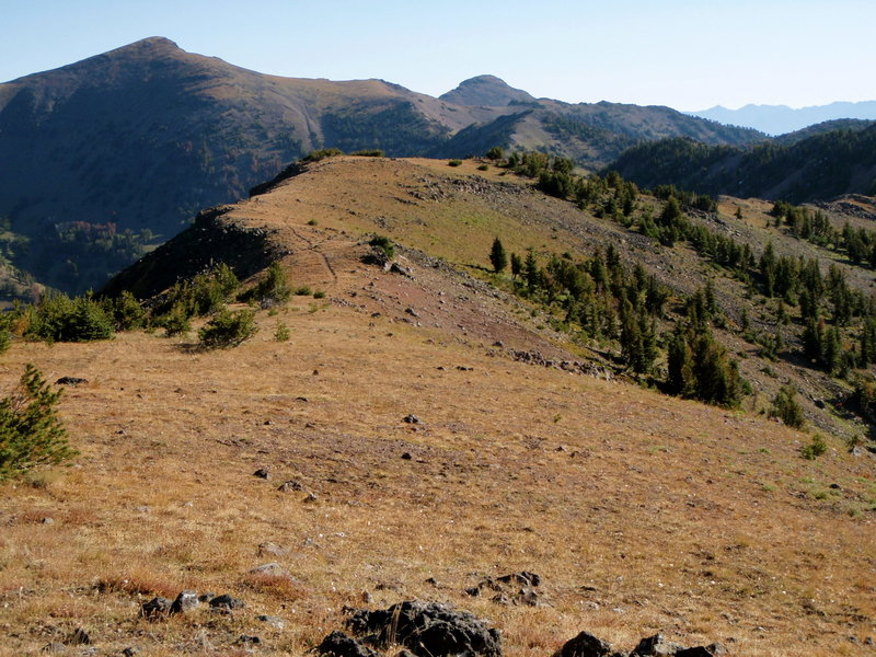 The Gallatin Mountain Range from the Gallatin Divide