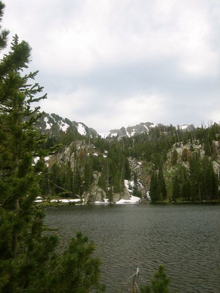 Jerome Rock Lakes area