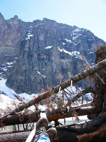 Vigil Peak from Lake Isabel