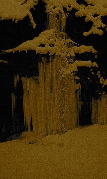 Ousel Falls in winter