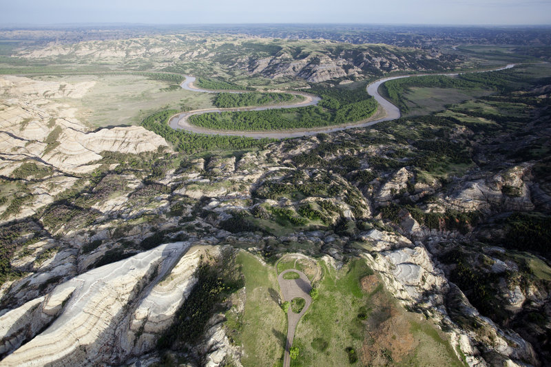 Oxbow Overlook, North Unit, Theodore Roosevelt National Park
