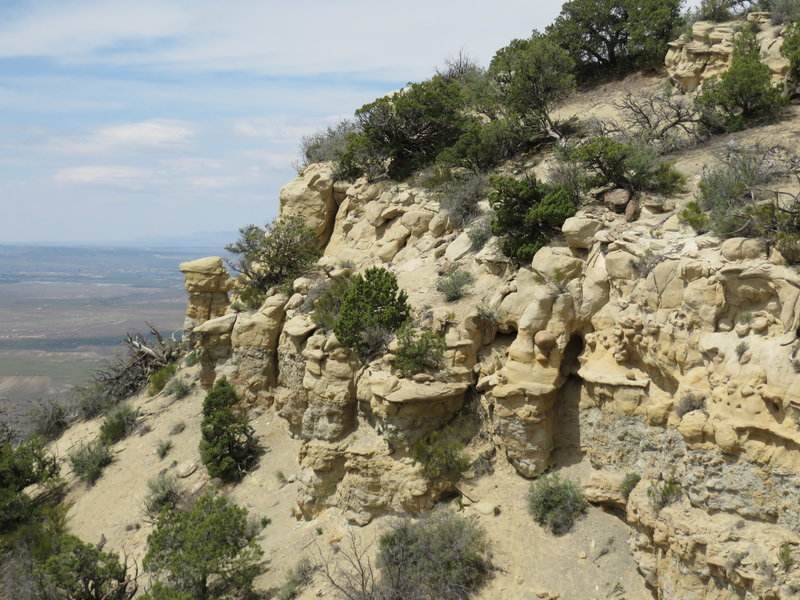 Cliffs and the western Grand Valley