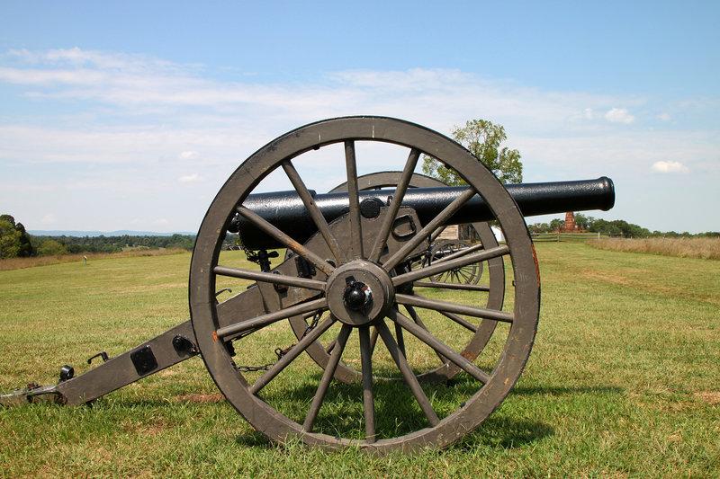 Manassas Battlefield Artillery