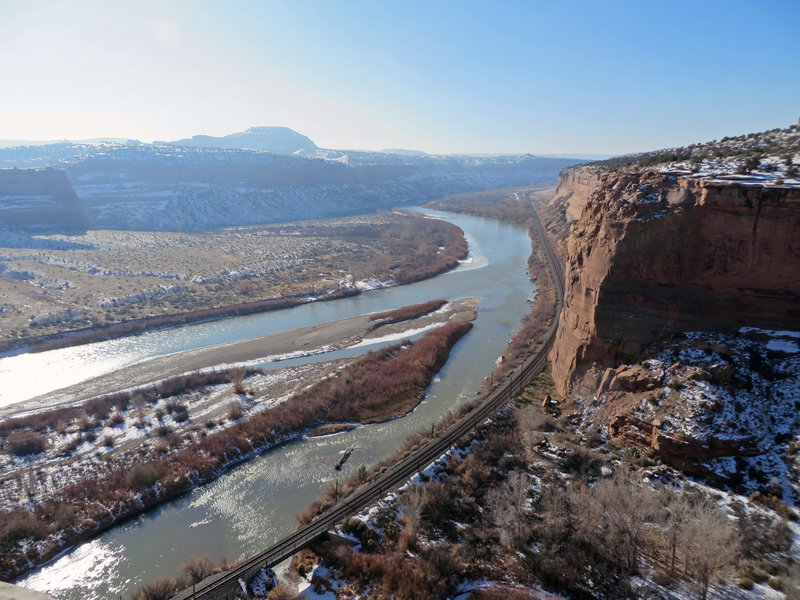 First view of the Colorado River