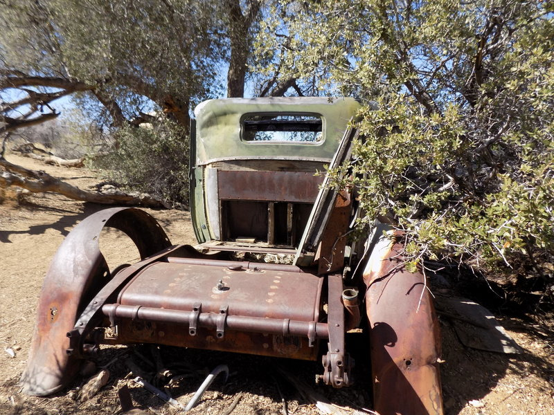 Wall Street Mill - Customer Parking Only! Joshua Tree National Park.