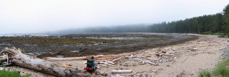 Sand Point on the Washington coast