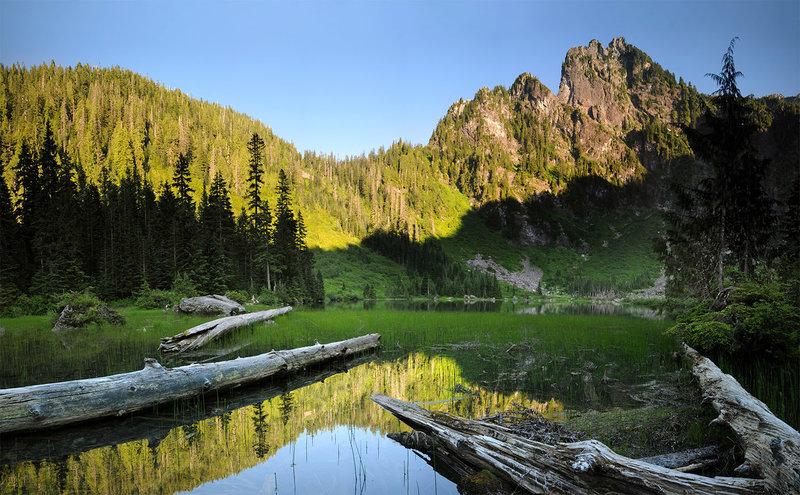 Heather Lake view