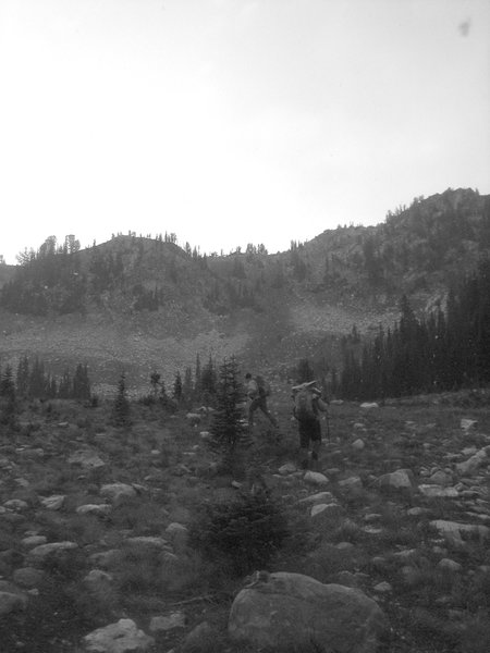 The high country of the Silver Pass area - from the East Fork Mill Creek Trail