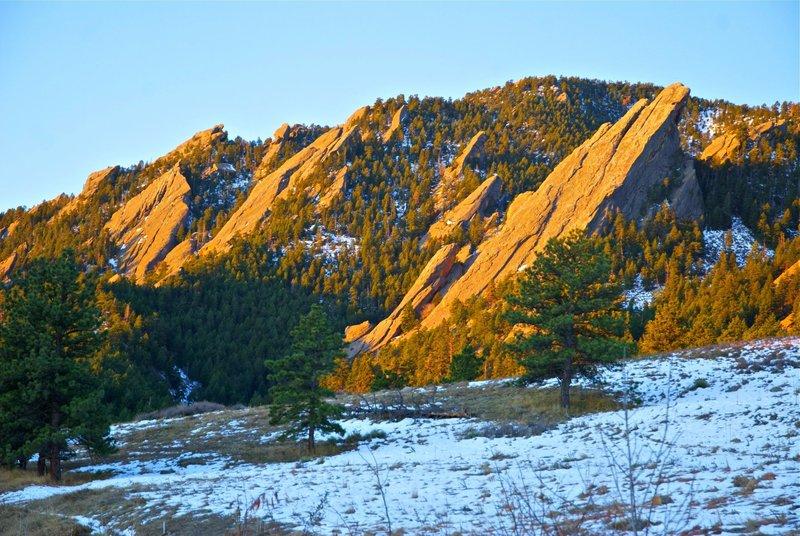 Flatirons of Boulder, Colorado