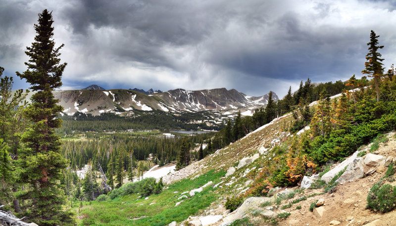 The view from Beaver Creek Trail.